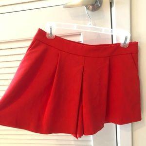 Zara Shorts - Zara red skort